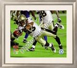 Pierre Thomas Super Bowl XLIV Framed Photographic Print