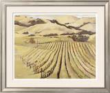 Summer Vineyard Prints by Silvia Rutledge