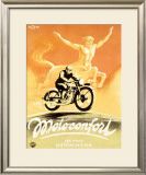 Motoconfort Framed Giclee Print by Roger Cartier