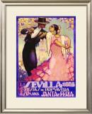 Sevilla Framed Giclee Print by Juan Dapena Parilla