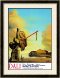 Casket at the Beach Poster by Salvador Dalí