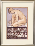 Militaire Demonstraties Framed Giclee Print by L. Jansen