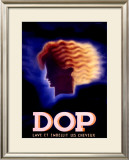 Dop Framed Giclee Print by Charles Loupot