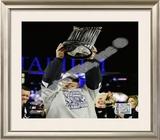 Joe Girardi Game Six of the 2009 MLB World Series Framed Photographic Print