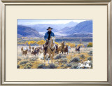 Good Horses and Wide Open Spaces Limited Edition Framed Print by Tim Cox
