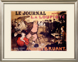 Le Journal, La Loupiote Framed Giclee Print by  Poulbot