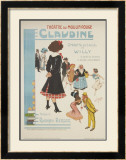 Moulin Rouge: Claudine Prints by  Clerisse
