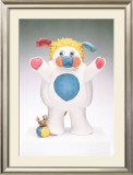 Popples Print by Jeff Koons