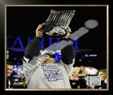 Joe Girardi Game Six of the 2009 MLB World Series Framed Photographic Print