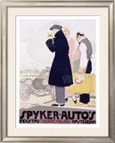 Spyker Autos Framed Giclee Print by  Vanderhem