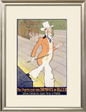 Smart Carmen Framed Giclee Print by Auguste Roubille