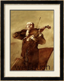 Le Violoniste Print by Claude Weisbuch