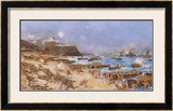 The Landing at Anzac, 25th April 1915 Limited Edition Framed Print by Charles Edward Dixon
