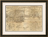 Important Operations in Kentucky and Tennessee, c.1861 Framed Giclee Print by E. S. Hall