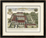 Collegium Street Trinitatis Prints by  Loggan