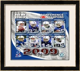 2009 Indianapolis Colts AFC Champions Team Framed Photographic Print