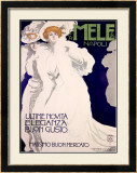 Mele Framed Giclee Print by Marcello Dudovich