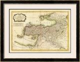 Turquie d'Asie, c.1791 Framed Giclee Print by Rigobert Bonne
