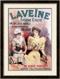 Laveine Enleve l'Encre Framed Giclee Print by Lucien Lefevre