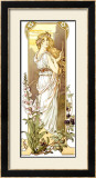 Fleurs des Montagne Framed Giclee Print by Elisabeth Sonrel