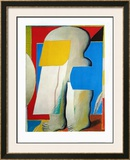 Masked Figure II, 1965 Prints by Horst Antes