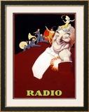 Radio Framed Giclee Print