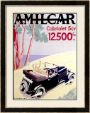Amilcar Framed Giclee Print by  Chazelle