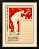 Paul Hankar Framed Giclee Print by Paul Crespin