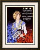 Big Four Framed Giclee Print by Emilio Vila