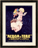 Hair Coloring Tonic Framed Giclee Print by Giorgio Muggiani