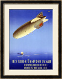In 2 Tagen Uber Den Ozean Framed Giclee Print by Ottomar Anton