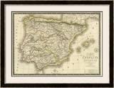 Espagne Ancienne, c.1827 Framed Giclee Print by Adrien Hubert Brue