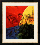 Peintre Posters by Marc Chagall