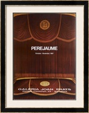 Galeria Joan Prats 1987 Limited Edition Framed Print by  Perejaume