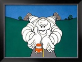 Michelin, Auto Care Framed Giclee Print