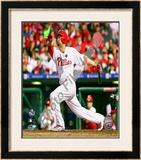 Shane Victorino - 2009 NL Championship Series Game 5 Framed Photographic Print