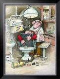 The Dentist Framed Giclee Print by Gary Patterson