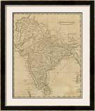Hindoostan, c.1812 Framed Giclee Print by Aaron Arrowsmith