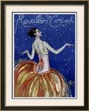 Reveillon du Coiset Framed Giclee Print by Jean-Gabriel Domergue
