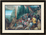 The Conversion of St.Paulus Poster by Pieter Bruegel the Elder
