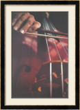 Cello Limited Edition Framed Print by Harvey Edwards