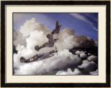 AVG Curtiss Hawk P40C Burma Framed Giclee Print by Paul Wollman