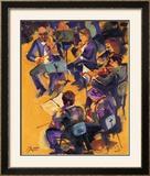 Primeros Violines Prints by  Bautista