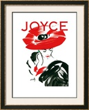 Joyce Cover Posters by Michel Canetti