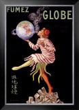 Fumez le Globe Framed Giclee Print by Leonetto Cappiello