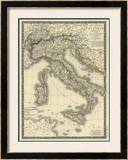Italie Moderne, c.1828 Framed Giclee Print by Adrien Hubert Brue