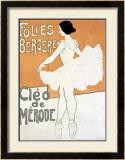 Cleo de Merode Framed Giclee Print
