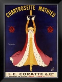 Chartrosette Mathieu Framed Giclee Print by Leonetto Cappiello