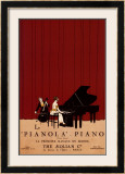 Le Pianola Art by Susan W. Berman