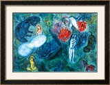 Le Paradis Art by Marc Chagall
